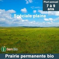 Prairie permanente plaine bio - 7 à 9 ans