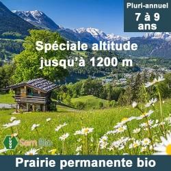 Prairie permanente altitude bio - 7 à 9 ans